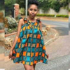 Clothing ideas on modern african fashion 322 African Fashion Ankara, African Print Dresses, African Print Fashion, Africa Fashion, African Dress, Ankara Short Gown Styles, Short Gowns, African Attire, African Wear