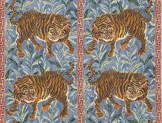 Tiger Tiger - Jim Thompson Fabrics