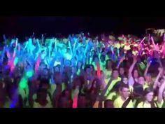 Neon Run em Braga - lançamento de balões com Led's