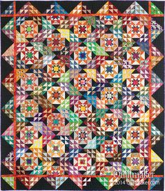 Wanderlust by Bonnie Hunter for Quiltmaker's July/August issue. Pattern available digitally too: http://www.quiltandsewshop.com/product/Wanderlust-Digital-Pattern/just-arrived&utm_source=QMDH140801&utm_medium=PT&utm_campaign=QMwanderlust