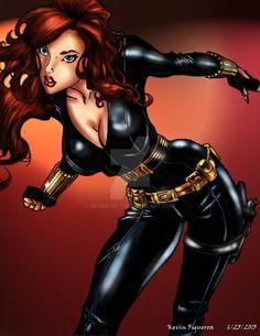 Black Widow by Seven-of-7