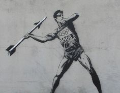 BANKSY GOES TO THE OLYMPICS