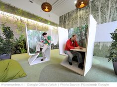 What a creative workspace? Learn awesome ideas… – Executive Home Office Design Design Exterior, Office Interior Design, Office Interiors, Design Offices, Office Designs, Google Office, Creative Office Space, Small Office, Office Cube