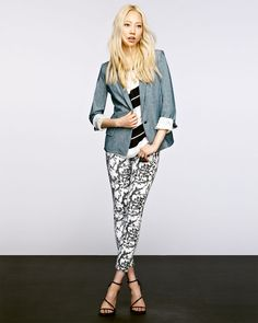 """Soo Joo for Neiman Marcus August 2013 """"Do Denim Different"""" collection"""