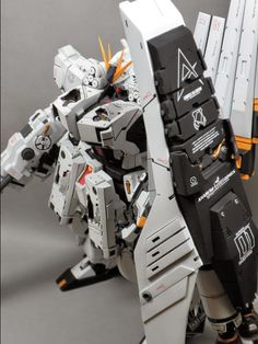 Painted Build: Neo Grade 1/100 FA-93HWS nu Gundam HWS (Heavy Weapon System) - Gundam Kits Collection News and Reviews