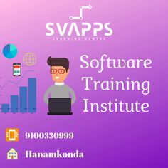 SVAPPS is a high-quality Software Training Institute in Warangal, Hanamkonda, Kazipet at an affordable price. Marketing Training, Design Web, Learning Centers, App Development, Mobile App, Digital Marketing, Software, Career, Technology