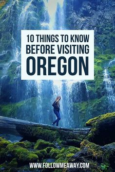 In case you haven't heard, Oregon is this magical U. State with a ton of surprising landscapes and is home to the city of Portland and legalized marijuana. Oregon Vacation, Oregon Road Trip, Oregon Travel, Oregon Hiking, Backpacking Oregon, Oregon Coast Roadtrip, Seattle Travel, Road Trips, Places To Travel