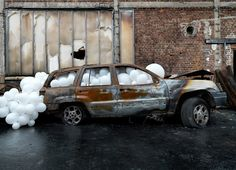 Blow up: Charles Pétillon's bizarre balloon masterpieces