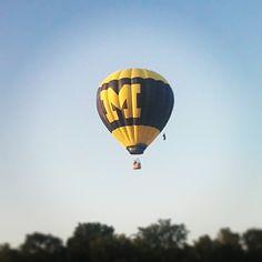 UMich hot air balloon!