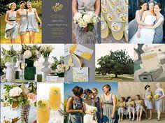 gray, yellow, green palette