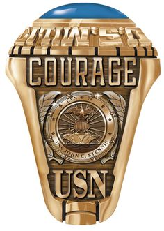 Create this historic ring with all your own personnel details. A great memento of your service on one of the great carriers