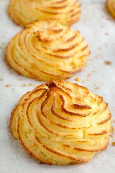Parmesan Duchess Potatoes | Striped Spatula