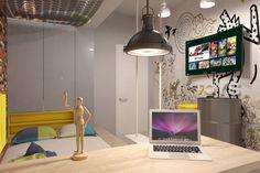 Concept Architecture, Desk, Ceiling Lights, Lighting, Bedroom, Home Decor, Desktop, Decoration Home, Room Decor