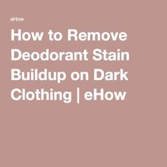 1000 ideas about deodorant stains on pinterest remove for How to prevent sweat stains on shirts