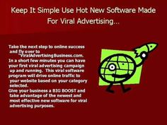 Viral Advertising Business Performance Part Vernon BC, Viral Advertising, Viral Marketing, Email Marketing, Internet Marketing, Marketing Software, Ads, Business Performance, Performance Parts, Vernon Bc