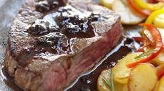 Filet de bœuf de Chalosse grillé à la tapenade