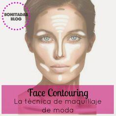 Cómo contornear el rostro. Desde el blog Bonitadas nos enseñan cómo contornear el rostro para lograr un maquillaje espectacular