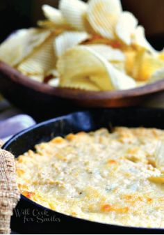 buffalo chicken dip makes for an easy and last minute appetizer