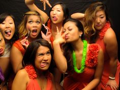 Bridesmaids photo booth