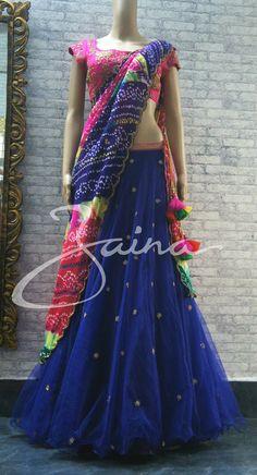 Chanya choli....best to play GARBA Garba Chaniya Choli, Garba Dress, Choli Dress, Choli Designs, Lehenga Designs, Indian Dresses, Indian Outfits, Indian Formal Wear, Chanya Choli