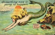 Vintage Mermaid Photo:  This Photo was uploaded by jeremytrumble. Find other Vintage Mermaid pictures and photos or upload your own with Photobucket free...