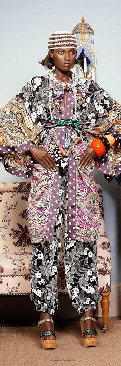 Spring 2015 Ready-to-Wear  Duro Olowu