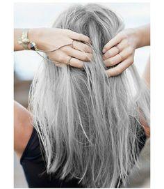 #Hairspiration: el pelo gris o la moda que no se pasa de moda