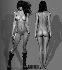 bernadette body by blackhearted on deviantART 3D!!! Woooow!