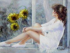 Paaintin by Lucia Sarto - #pintura #art #artwit #twitart #fineart #painting