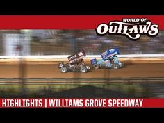 World of Outlaws Craftsman Sprint Cars Williams Grove Speedway July 2016 Real Racing, Dirt Racing, Cars Series, Sprint Cars, Chevrolet Logo, Craftsman, Highlights, World, Youtube
