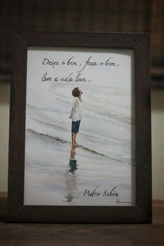 Pedro Schin - Watercolor, aquarela líquida, frases