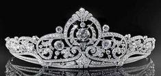 Königliche Juwelen: Die belgische Scroll Tiara