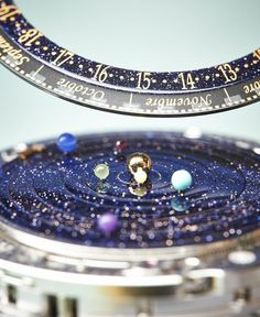 Van Cleef & Arpels Complication Poetique Midnight Planetarium Watch Hands On   hands on