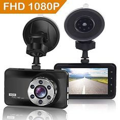 Prime2 Dual Cam Dash Cam System WDR 1080P Dual Cams Great Day//Night Video!