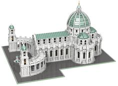 42501976755_9761c12116_z Minecraft Castle, Lego Castle, Minecraft Houses, Minecraft Plans, Minecraft Creations, Cool Lego Creations, Minecraft Designs, Minecraft Architecture, Church Architecture