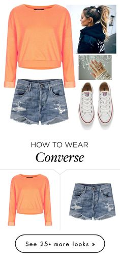 Designer Clothes, Shoes & Bags for Women Crop Top Outfits, Short Outfits, Chic Outfits, Summer Outfits, Girl Outfits, Fashion Outfits, Womens Fashion, Fashion Trends, Converse How To Wear