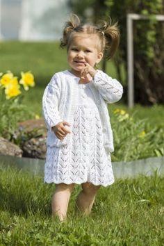 Kjole med jakke og lue til jenter 0 - 8 år - av Tusen Ideer