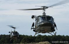 Italian Augusta Bell 212 Twin Hueys.