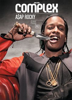 A$AP Rocky Covers Complex's December 2012/January 2013 Issue!
