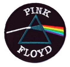 Pink Floyd Rock Band Embroidery Iron on Patch Badge for sale online Band Patches, Cute Patches, Pin And Patches, Iron On Patches, Jacket Patches, Pink Floyd Band, Embroidery Designs, Patch Design, Embroidery Patches