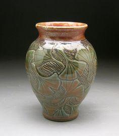 Gingko Leaf Vase - Michèle Hastings