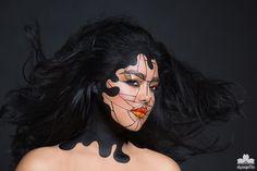 Risultati immagini per geometric makeup