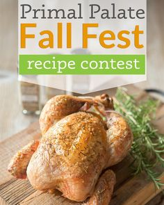 Did you see this? Today we announced our biggest ever Paleo recipe contest! Join us for Fall Fest and enter your best SWEET or SAVORY recipes for a chance to win over FIVE THOUSAND DOLLARS worth of kitchen and cooking prizes! Do you have what it takes? Visit the link in our profile to get all the juicy details!  LINK: http://ift.tt/1F5jydY  #primalpalateFallFest
