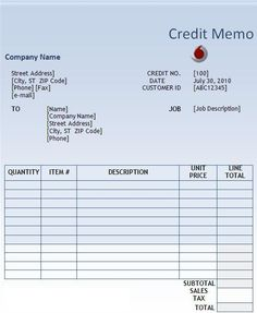 Cash Memo Format In Word Format  Excel Project Management