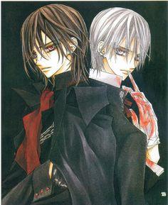 Vampire knight - Kaname and Zero