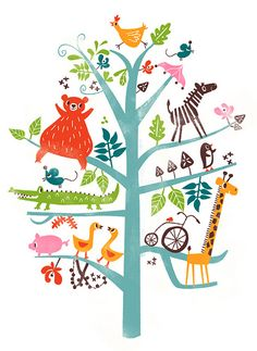 A would LOVE this in a huge poster in a kids room!