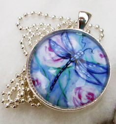 Enter to win: Dragonfly Pendant - Art by Ira…