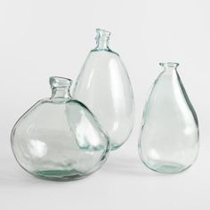 Clear Barcelona Vases - Glass - by World Market - bois 2019 Spring Home, Autumn Home, Life On Virginia Street, Metal Wall Planters, Modern Rustic Decor, Rustic Room, Decoration Inspiration, Decor Ideas, Decorating Ideas