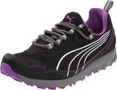 PUMA Women's Faas 250 Winners Trail Running Shoe Puma. $46.79. Mesh. EverRide with EverTrack outsole.. Synthetic upper.. Multi-directional lugs. Water repellent. Rubber sole. Water resistant / lightweight.