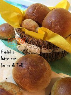 La pentola senza glutine: Panini al latte con farina di teff